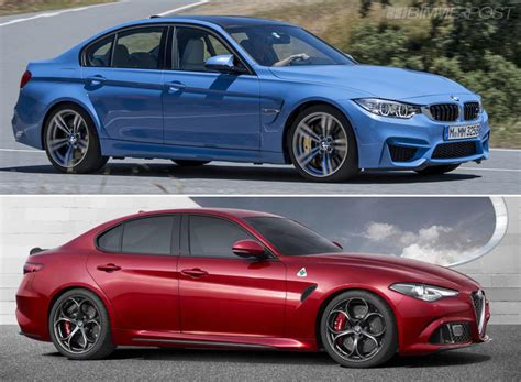 f80 m3 vs alfa romeo giulia visually compared
