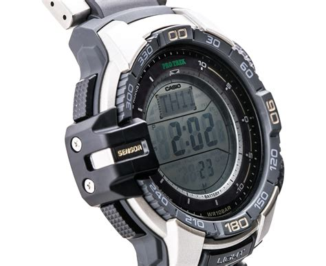 Casio Protrek Prg 270d 7dr Sensor Ver3 Silver casio protrek sensor ver 3 steel great daily deals at australia s favourite