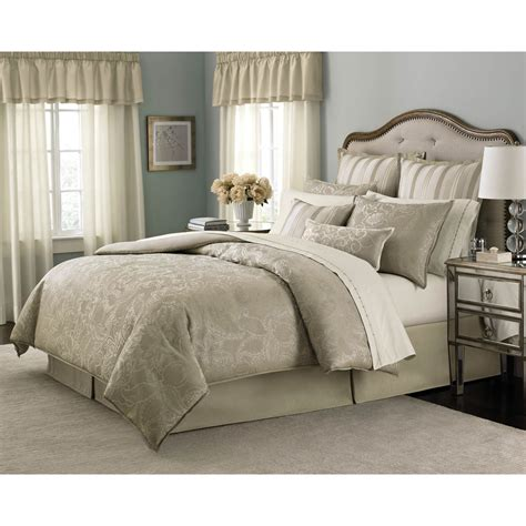 martha stewart collection gated garden 24 pc comforter