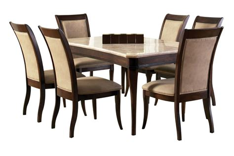 Marseille Dining Table 6 Side Chairs At Gardner White White Dining Table And 6 Chairs