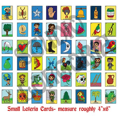 how to make loteria cards small loteria cards