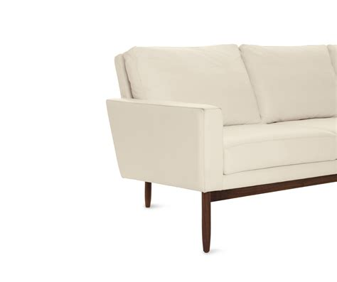 design within reach raleigh sofa raleigh sofa in leather sofas from design within reach