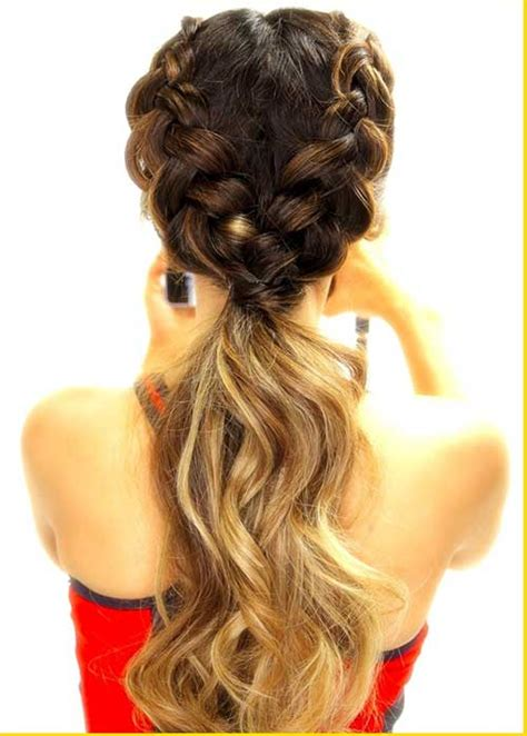 20 cute braided updos long hairstyles 2016 2017