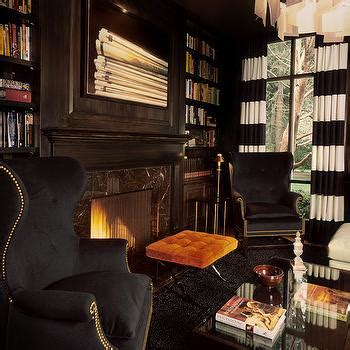 den office library todsen design dens libraries offices chocolate brown walls design ideas
