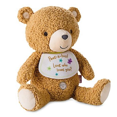hallmark stuffed animals hallmark baby recordable plush stuffed animal in