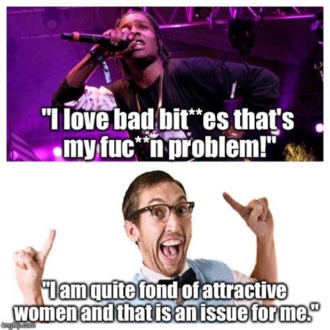 Proper English Meme - proper english quot gangsta quot rap imgflip