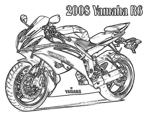 motorcycle coloring pages pdf yamaha coloring pages