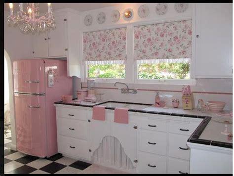 Shabby Chic White 5164 by Shabby Chic Kitchen Pink White Black Kitchen