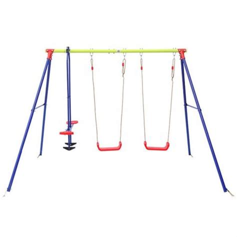 metal swing sets australia lifespan hurley 3 station metal swing set crazy sales