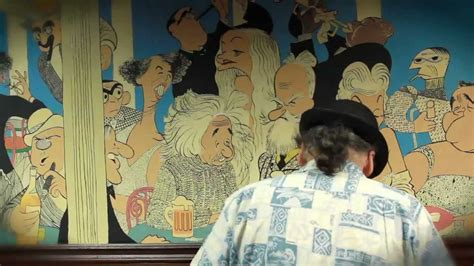 Frolic Room by Frolic Room The Restoration Of An Al Hirschfeld Mural