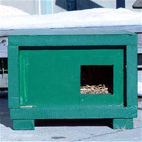 insulated cat house plans cat house plans insulated escortsea