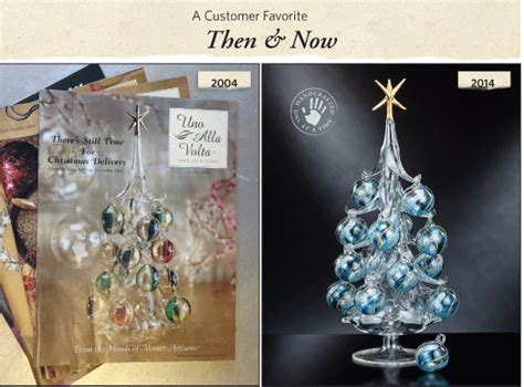 venetian glass christmas tree tbt 2004 edition venetian glass tree artisan moments