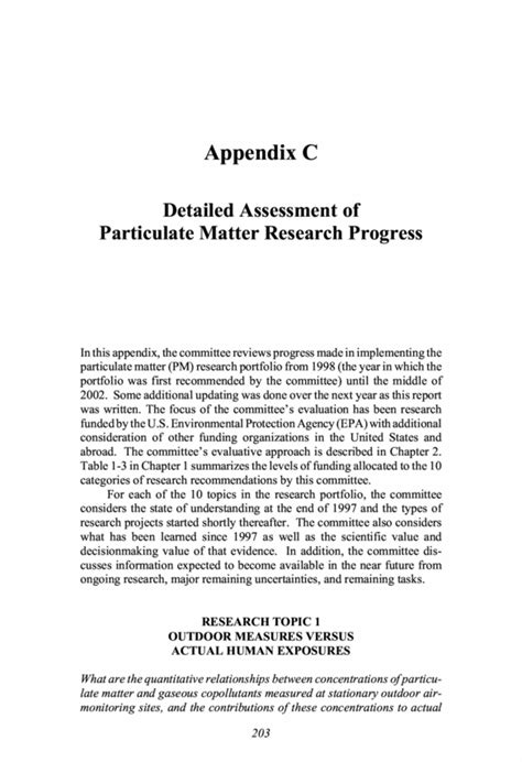 Appendix Research Paper Format by Apa Research Paper Appendix Format Exle Quotes
