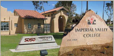 Sdsu Office Of Registrar by Imperial Valley Partnership