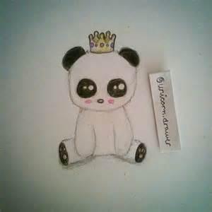 panda art cute draw on instagram