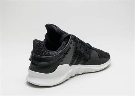 Adidas Eqt Black White adidas eqt support adv black white sneaker bar detroit