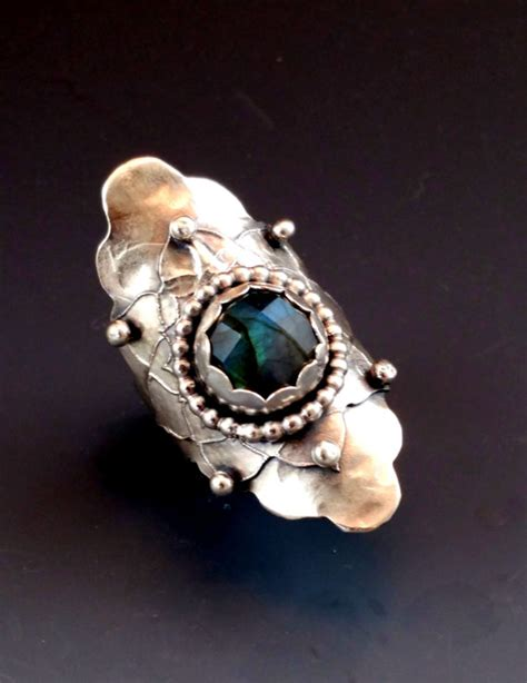 Handmade Sterling Silver Rings - unique handmade silver jewelry sterling silver statement