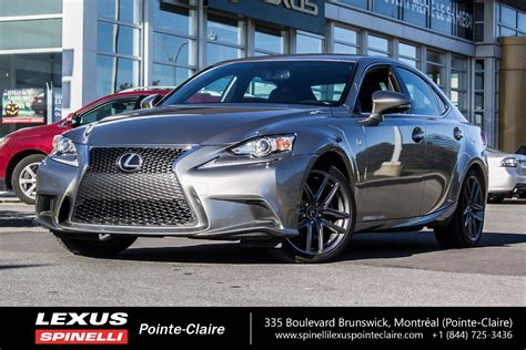 used lexus is 250 f sport used 2015 lexus is 250 f sport series 3 for sale in