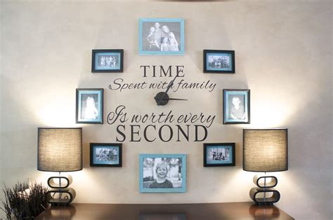 6 ideas to create a family feature wall papertostone - Family Picture Wall