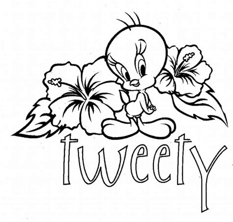 coloring page tweety bird tweety coloring pages coloring pages