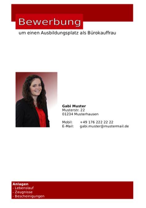 Bewerbung Deckblatt Rot Bewerbung Deckblatt Und Lebenslauf In Openoffice Libreoffice Detlev Schindele