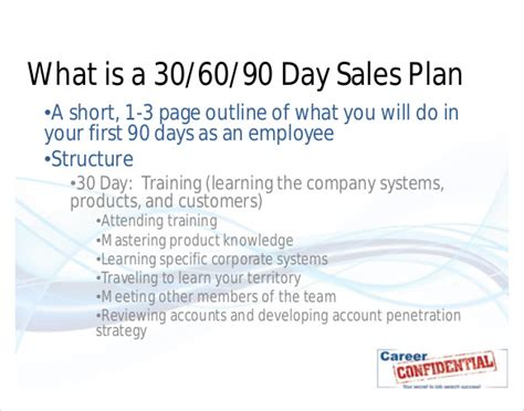 16 30 60 90 day action plan template free sle