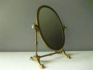 Vintage Vanity Mirror Uk Standing Vanity Mirror Vintage Brass By Northernscoutvintage