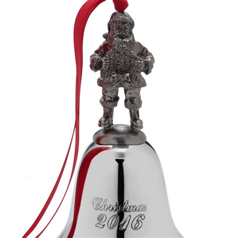 wallace santa christmas bell  christmas ornament