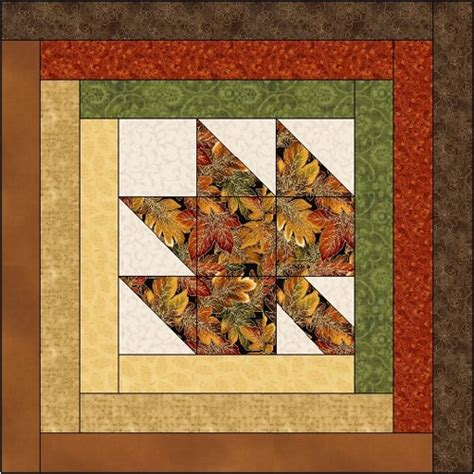 Log Cabin Quilt Block Patterns by Maple Leaf Log Cabin Quilt Block Pattern Adobe