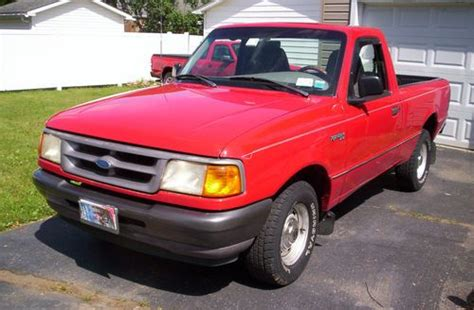 how to sell used cars 1997 ford ranger free book repair manuals find used 1997 ford ranger xl standard cab pickup 2 door 2 3l 5speed 4cylinder 2wd in port