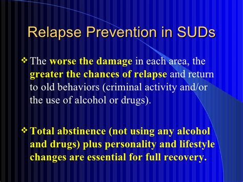 Chances Of Relapse After Detox by Relapse Prevention Pps