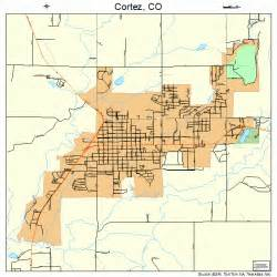 cortez colorado map 0817375