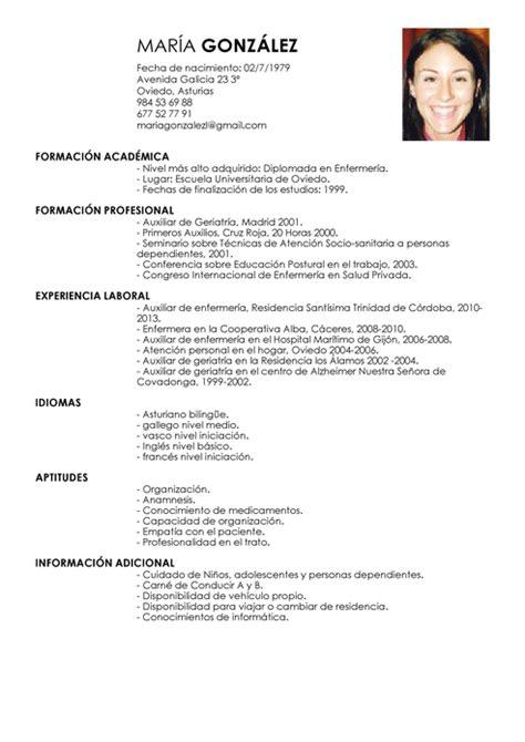 Modelo Curriculum Vitae Secretaria Administrativa Modelo De Curr 237 Culum V 237 Tae Auxiliar De La Salud A Domicilio Auxiliar De La Salud A Domicilio