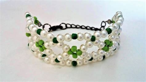 Handmade Bracelet Designs - beaded bracelet tutorial diy summer bracelet handmade