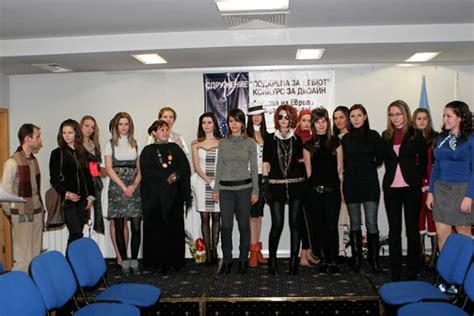 fashion design universities in europe students in fashion presented their interpretations of