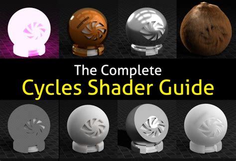 blender tutorials guru the cycles shader encyclopedia blender guru vfx