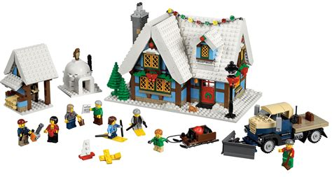 winter cottage lego 1000 images about lego winter kerst on lego