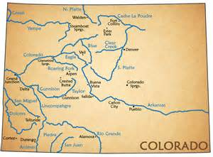 colorado river map rafting the arkansas browns colorado a