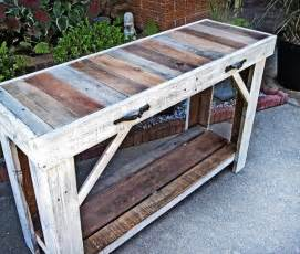 pallet tisch pallet sofa side table entryway table 101 pallets