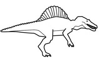 Other Coloring Pages With Dinosaur Theme sketch template