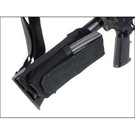 blackhawk ar 15 collapsible stock mag pouch 52bs17bk