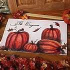 Personalized Family Pumpkin Wall Sign   FindGift.com