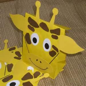 Giraffe Favors by Giraffe Treat Sacks Jungle Zoo Safari Theme Birthday
