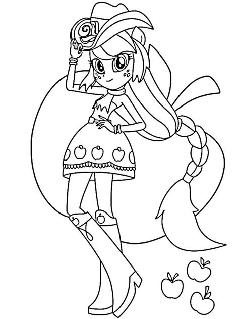 Desenhos Equestria Girl Para Colorir My Little Pony Mlp Eg Coloring Pages