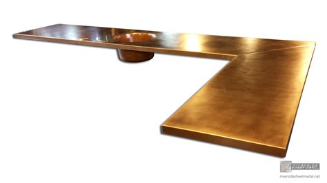 hammered copper bar top copper counter tops table tops kitchen island bars