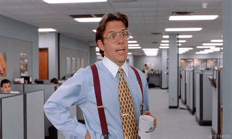 Office Space Gif Printer Gary Cole Gifs Find On Giphy