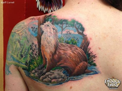 otter tattoos river otter seattle wa