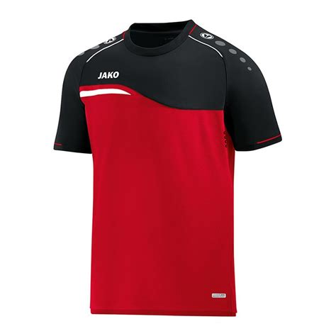 jako 50 rabattschein auf player competition jako competition 2 0 t shirt rot schwarz f01