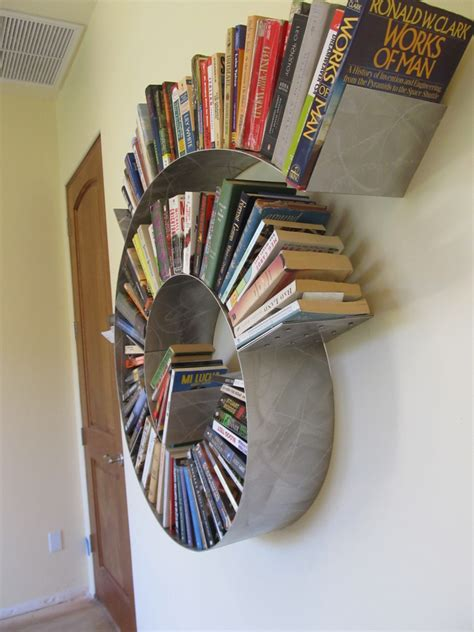 spiral bookshelf medium by kufadesigns on etsy