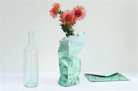 Disposable Vases by Disposable Parametric Planters Paper Vase